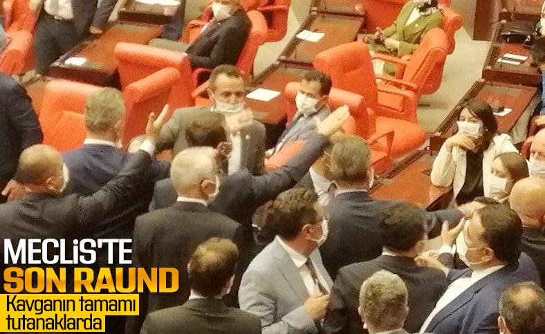 Meclis, sert tartışmalarla kapandı