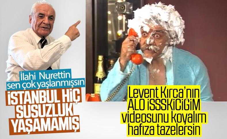Nurettin Sözen'e göre İstanbul hiç susuz kalmadı