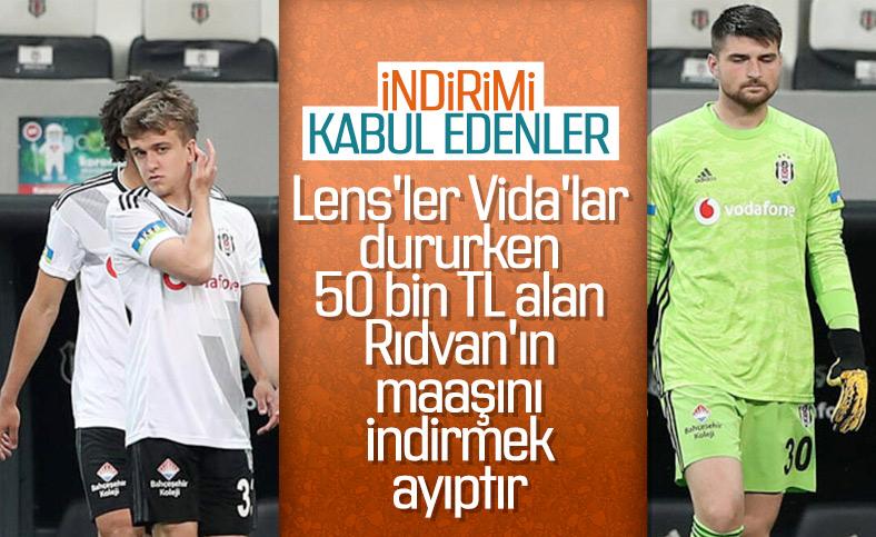 Beşiktaş'ta genç futbolcuların maaşları düşürüldü