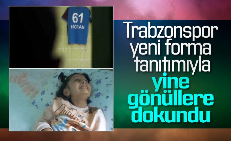 Trabzonspor'dan gönüllere dokunan forma tanıtımı