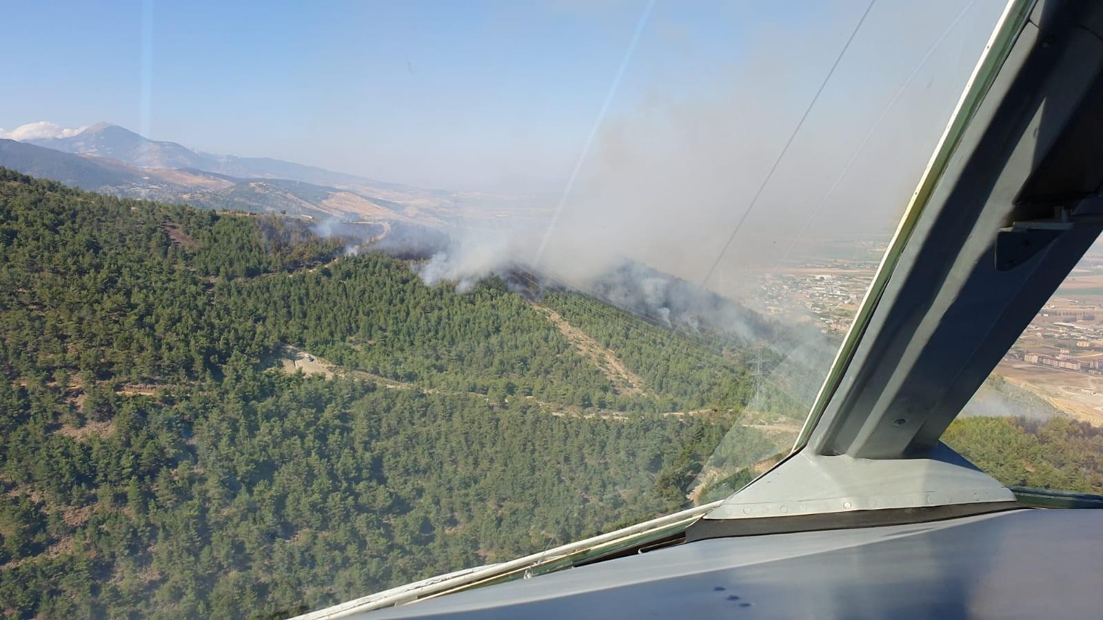 Bakan Pakdemirli: 19 yangından 15'i kontrol altına alındı #5