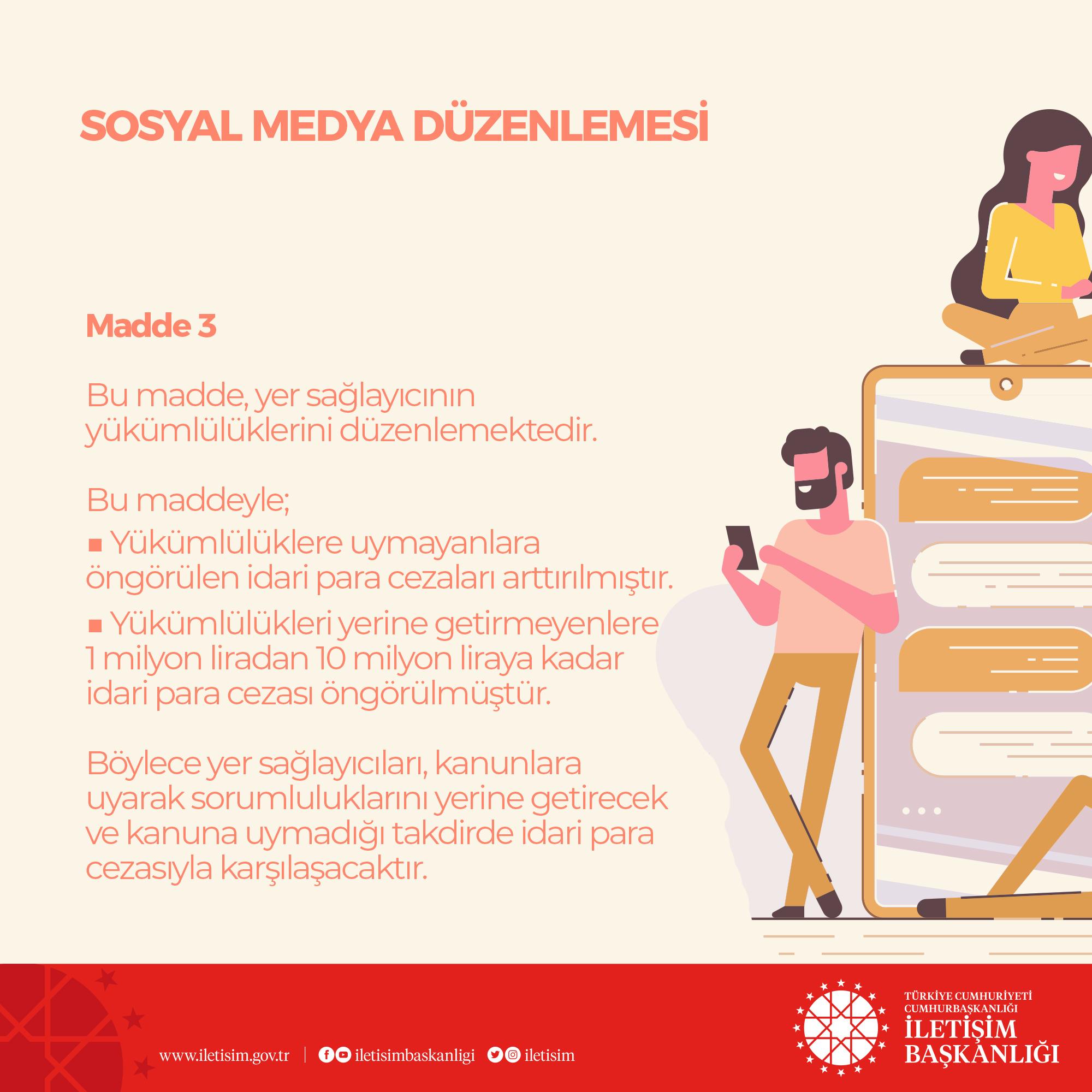 İletişim Başkanlığı, sosyal medya düzenlemesini anlattı #3