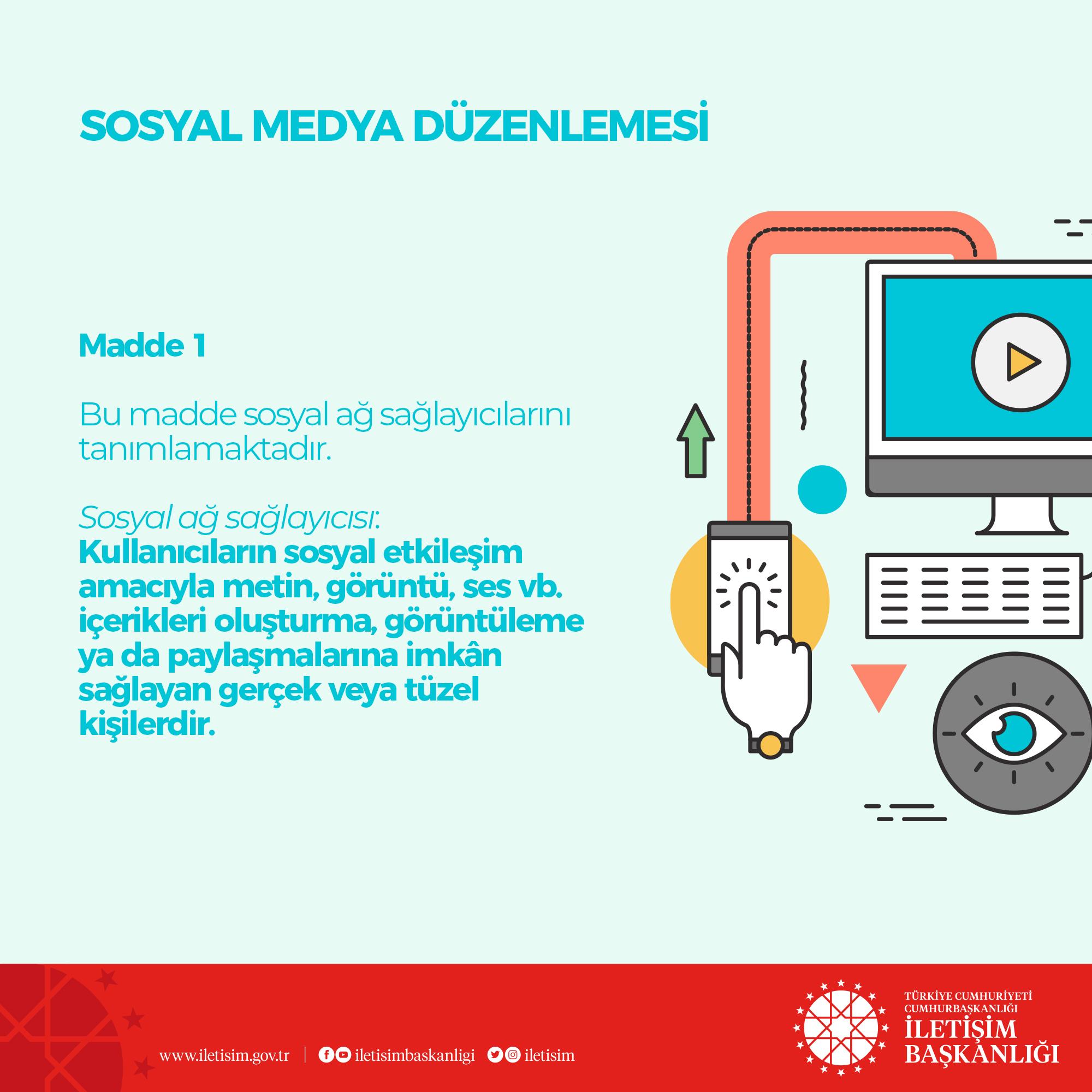 İletişim Başkanlığı, sosyal medya düzenlemesini anlattı #1