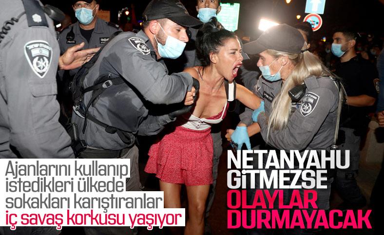 İsrail muhalefeti: Şiddet olayları iç savaşa sürükler