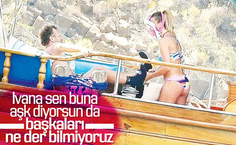 Ivana Sert yeni aşkıyla mavi turda
