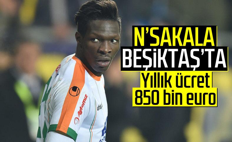 Beşiktaş, Nsakala ile anlaştı