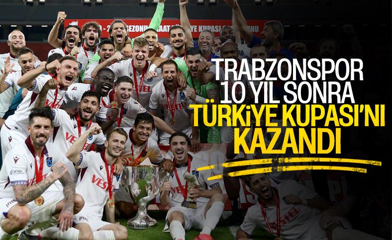 Türkiye Kupası Trabzonspor'un oldu