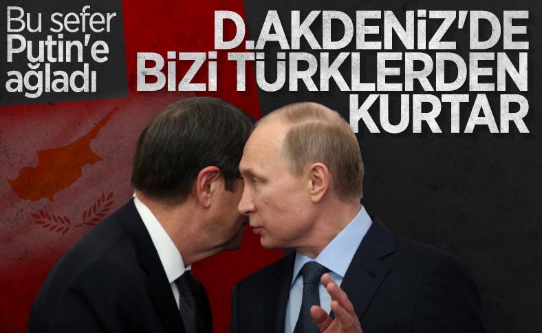 Anastasiadis, Türkiye'ye karşı Putin'den yardım istedi