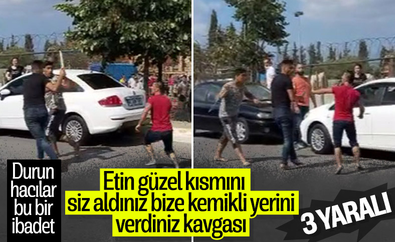 Tuzla'da kurban pazarında bıçaklı kavga