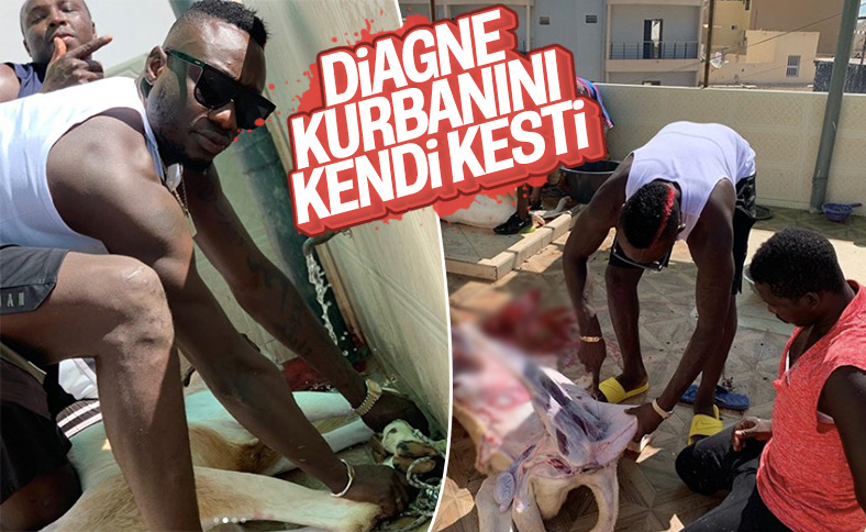 Diagne, Senegal'de kurban kesti