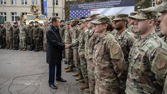 ABD Polonya'da kolordu komutanlığı # 2