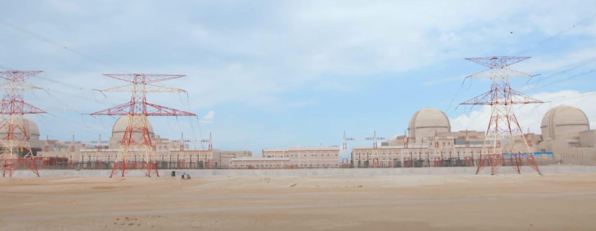 BAE, Arap dünyasının ilk nükleer santralini # 3 başlattı