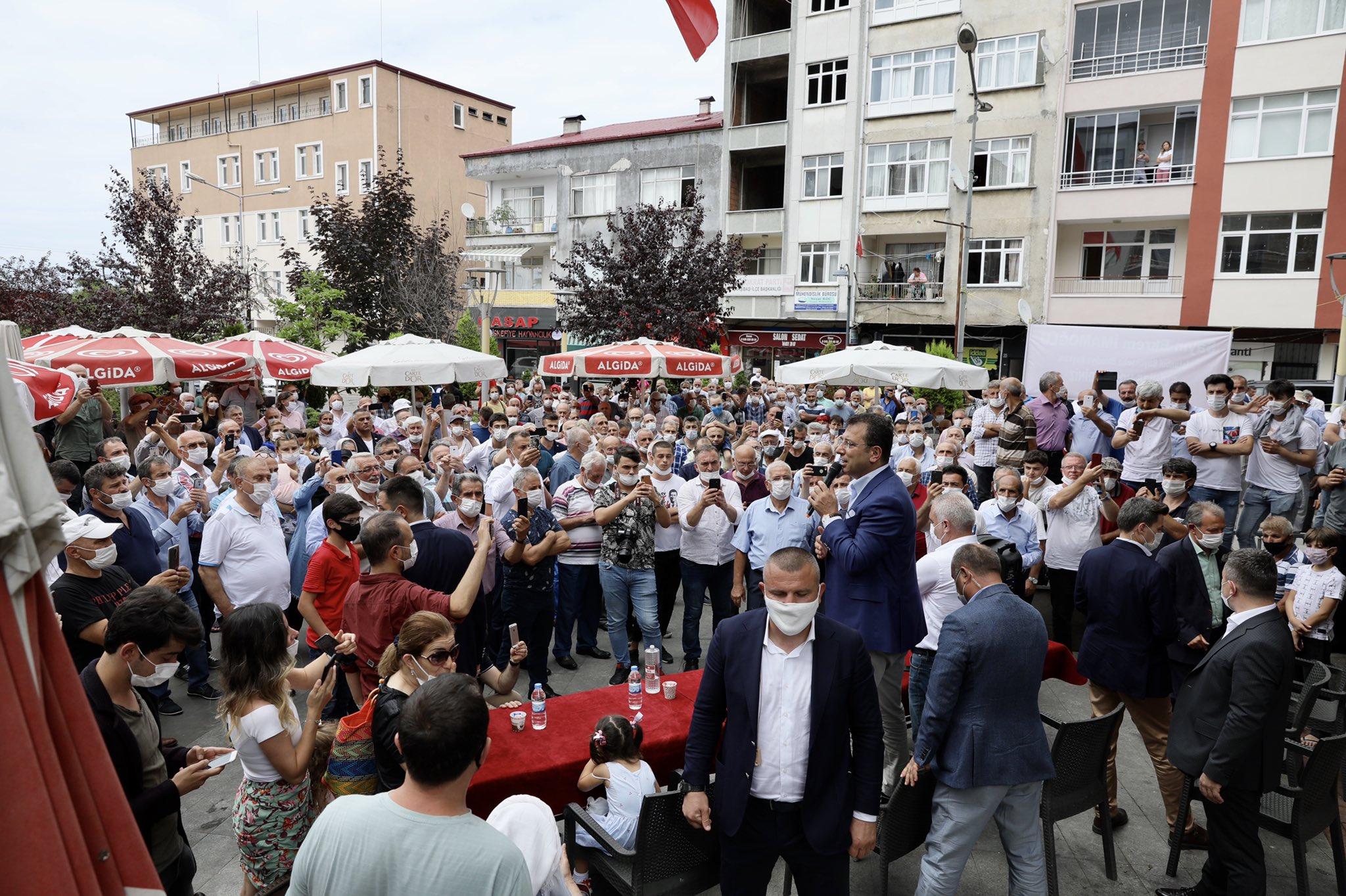 Ekrem İmamoğlu Trabzon'da #1