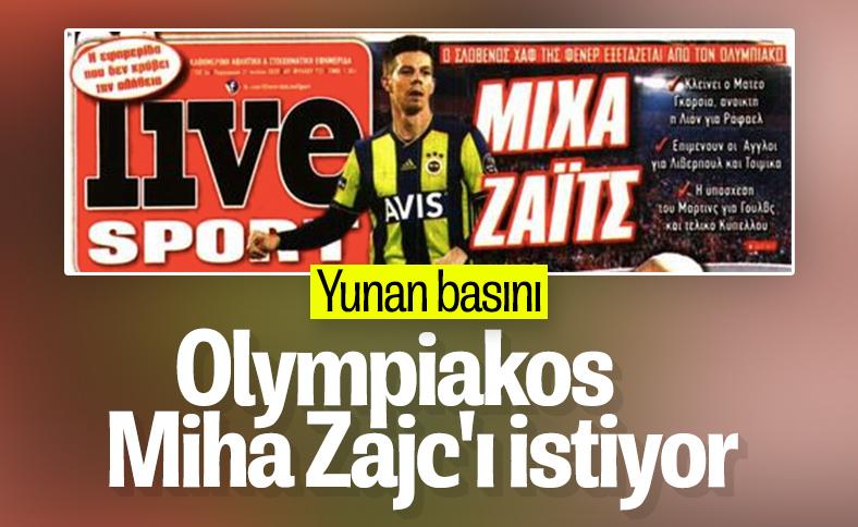 Olympiakos, Miha Zajc ile ilgileniyor