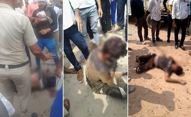 Hindistan'da kurban eti taşıyan Müslümanı linç ettiler #1