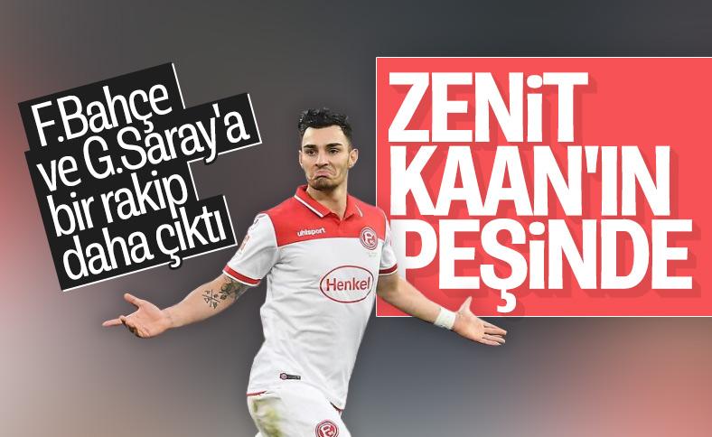 F.Bahçe ve G.Saray'ın istediği Kaan, Zenit'in listesinde