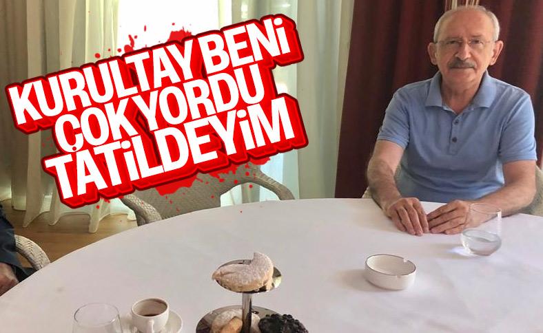 Kemal Kılıçdaroğlu tatil için Antalya'da