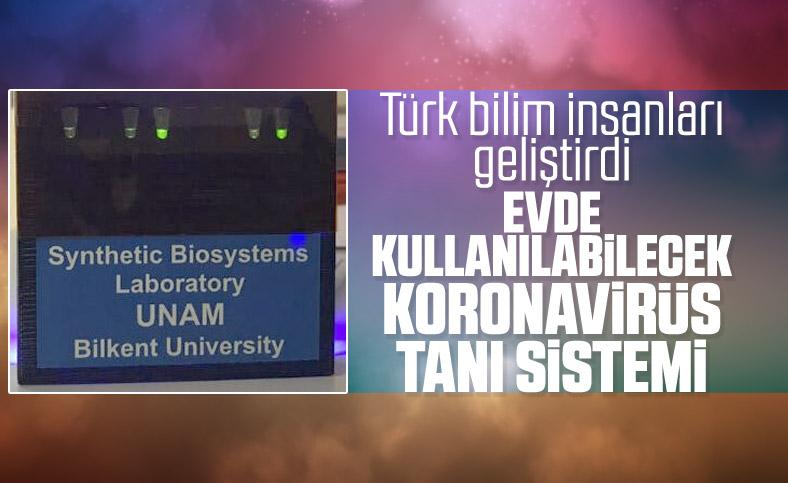 Türk bilim insanlarından koronavirüs testinde yeni sistem