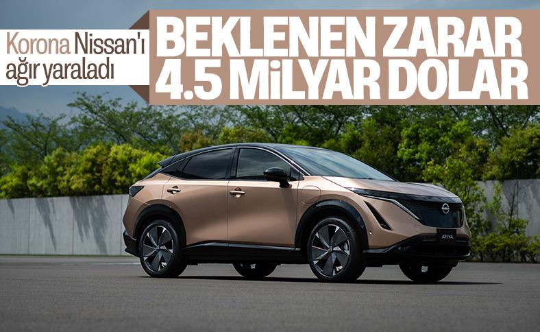 Nissan, yıl boyunca 4.5 milyar dolar zarar bekliyor
