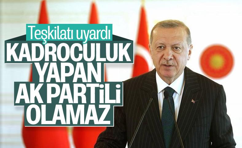 Cumhurbaşkanı Erdoğan il teşkilatları ile bayramlaştı