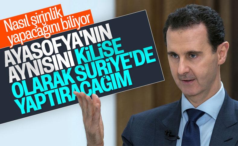Ayasofya'nın kopyası Suriye'de yapılacak