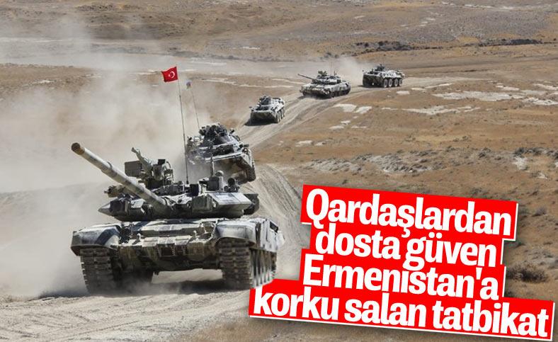 Azerbaycan - Türkiye askeri tatbikatından kareler