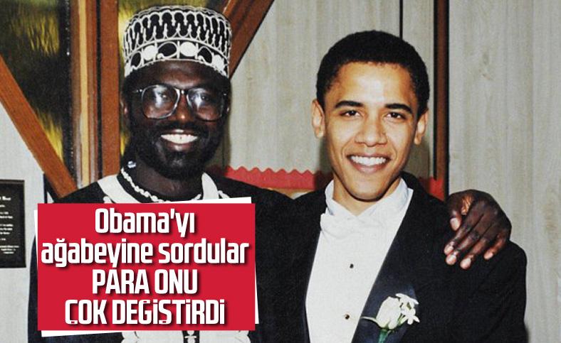 Ağabeyinden Obama'ya: Zengin olunca değişti