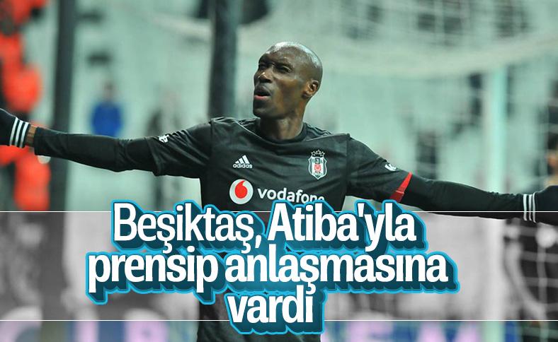 Beşiktaş, Atiba'yla el sıkıştı