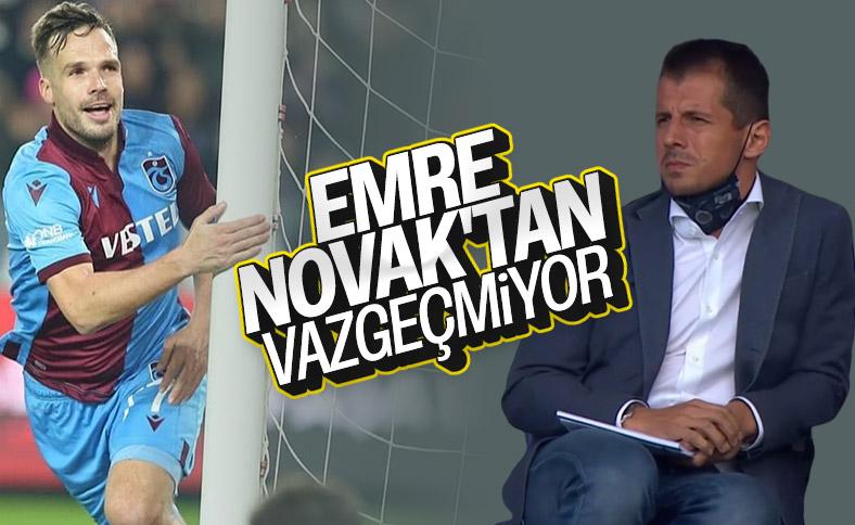 Emre Belözoğlu, Novak transferinde ısrarcı
