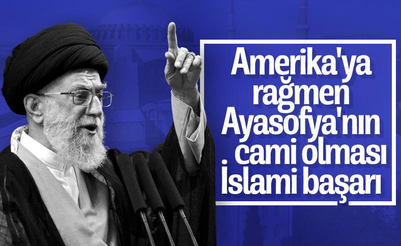 İran: Ayasofya'nın camiye dönüştürülmesi çok önemli