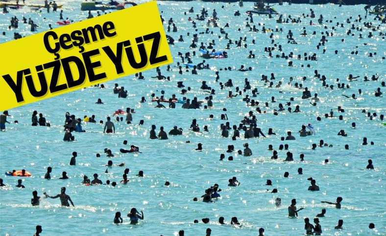 İzmir'de bayram tatili yoğunluğu