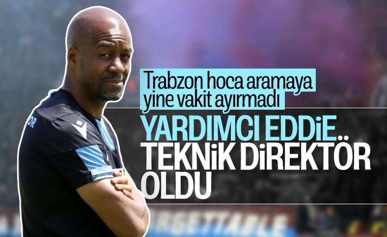 Trabzonspor'un yeni teknik direktörü Eddie Newton oldu