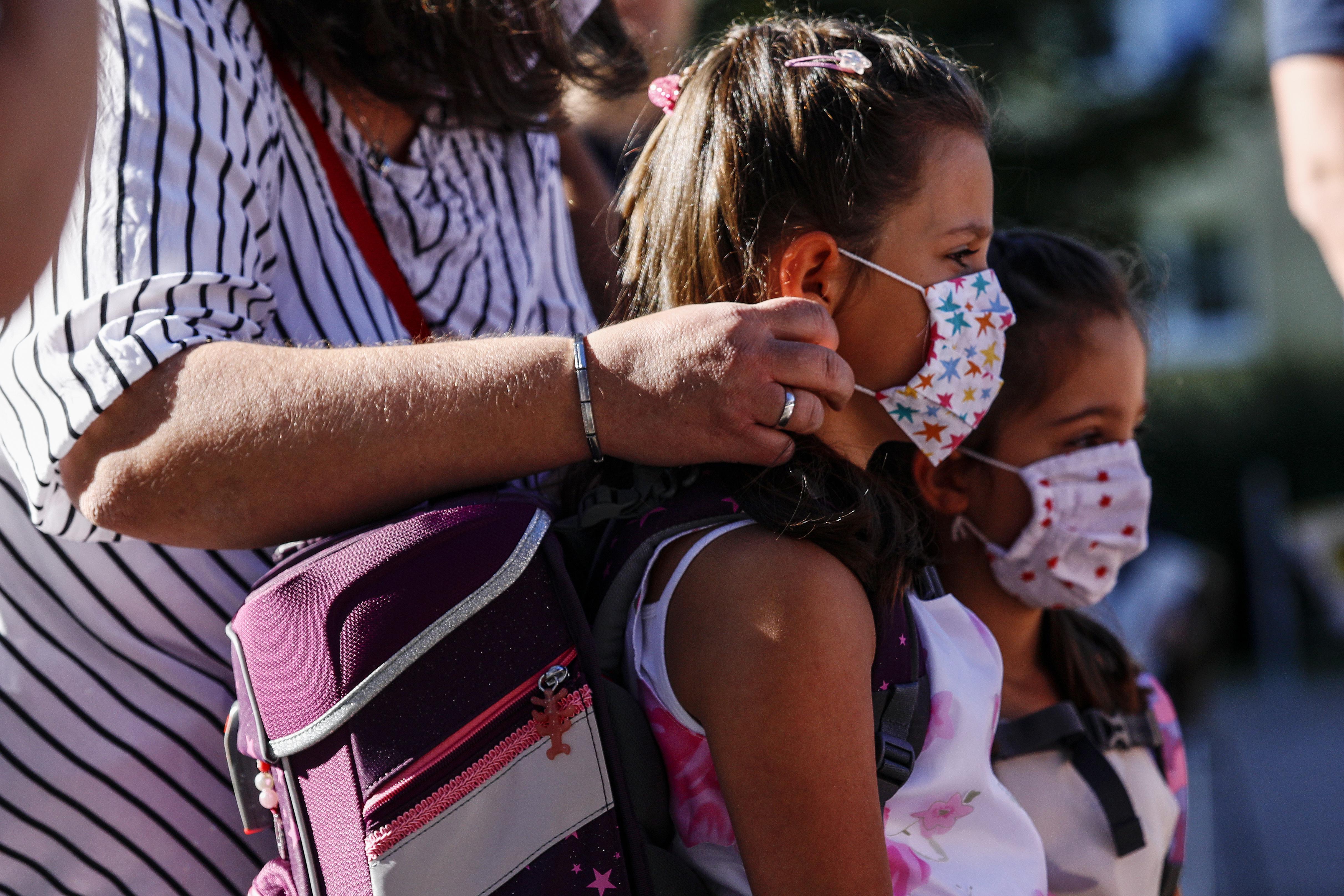 Almanya'da okullar açılmaya başladı #1