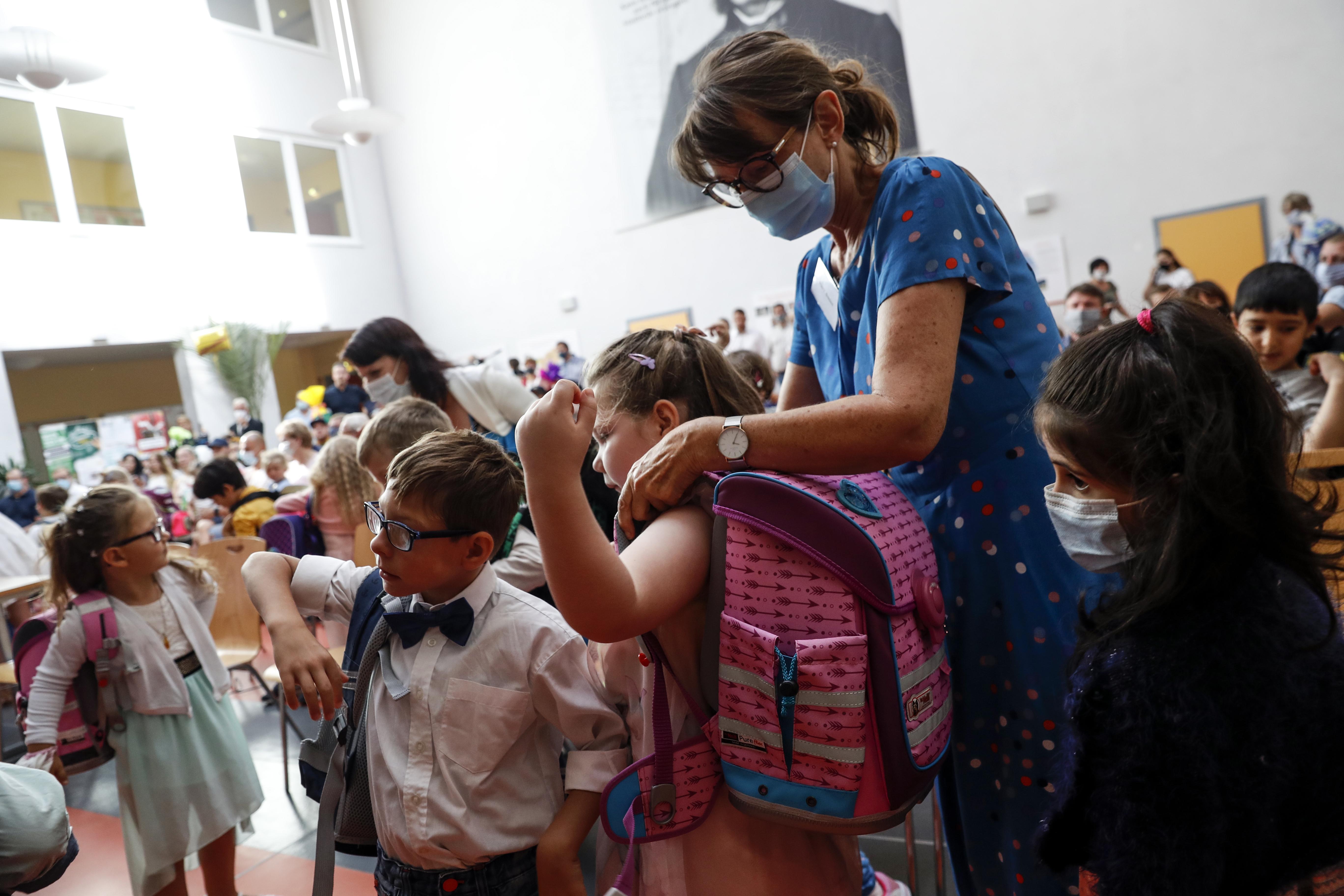 Almanya'da okullar açılmaya başladı #3