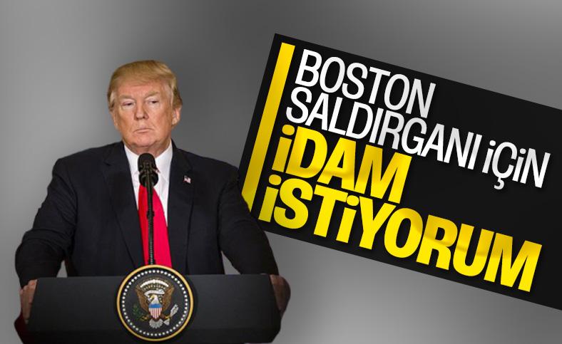 Donald Trump, Boston saldırganı için idam çağrısı yaptı