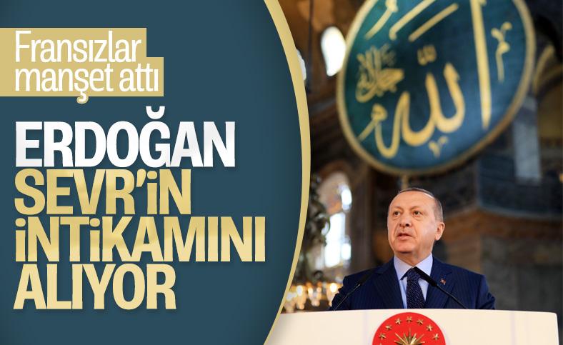 Le Monde Cumhurbaşkanı Erdoğan'ı haberine taşıdı