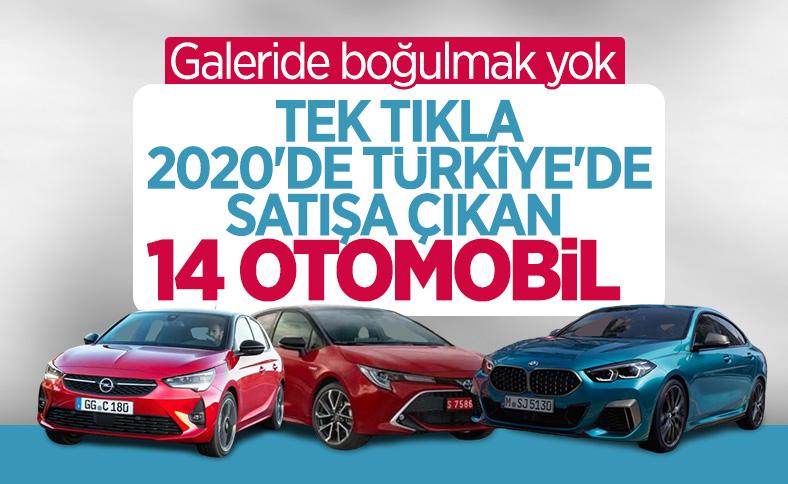 2020 yılında Türkiye'de satışa çıkan otomobiller