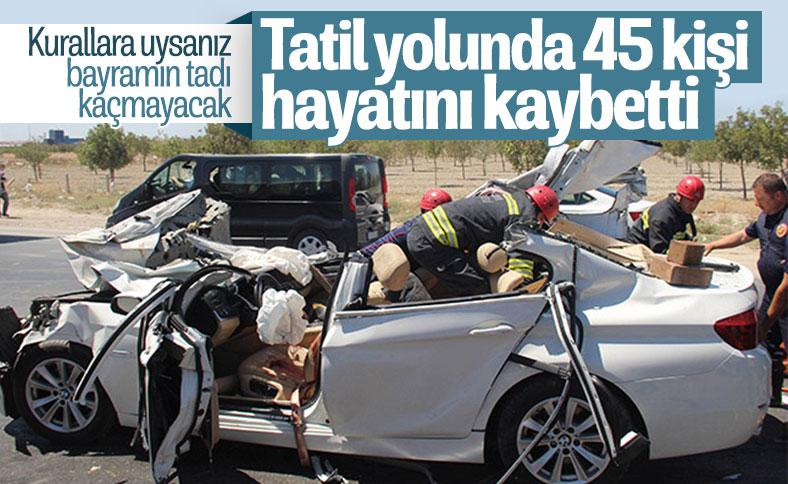 Soylu: 45 vatandaşımız hayatını kaybetti