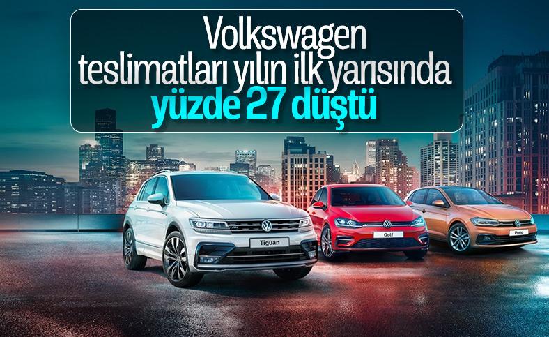 Volkswagen, teslimatlarda yüzde 27 düşüş yaşadı