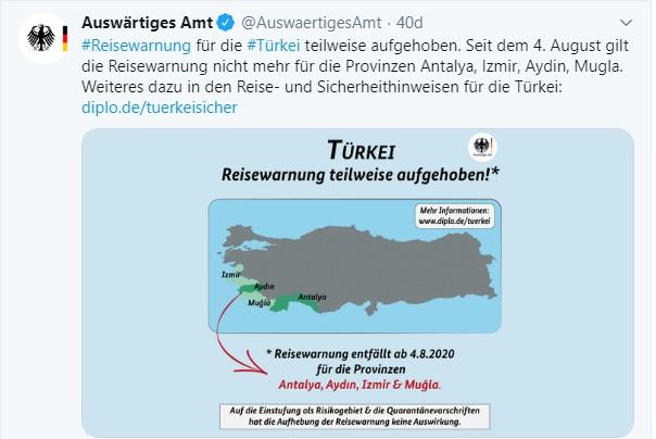 Almanya, 4 il için seyahat uyarısını kaldırdı #2