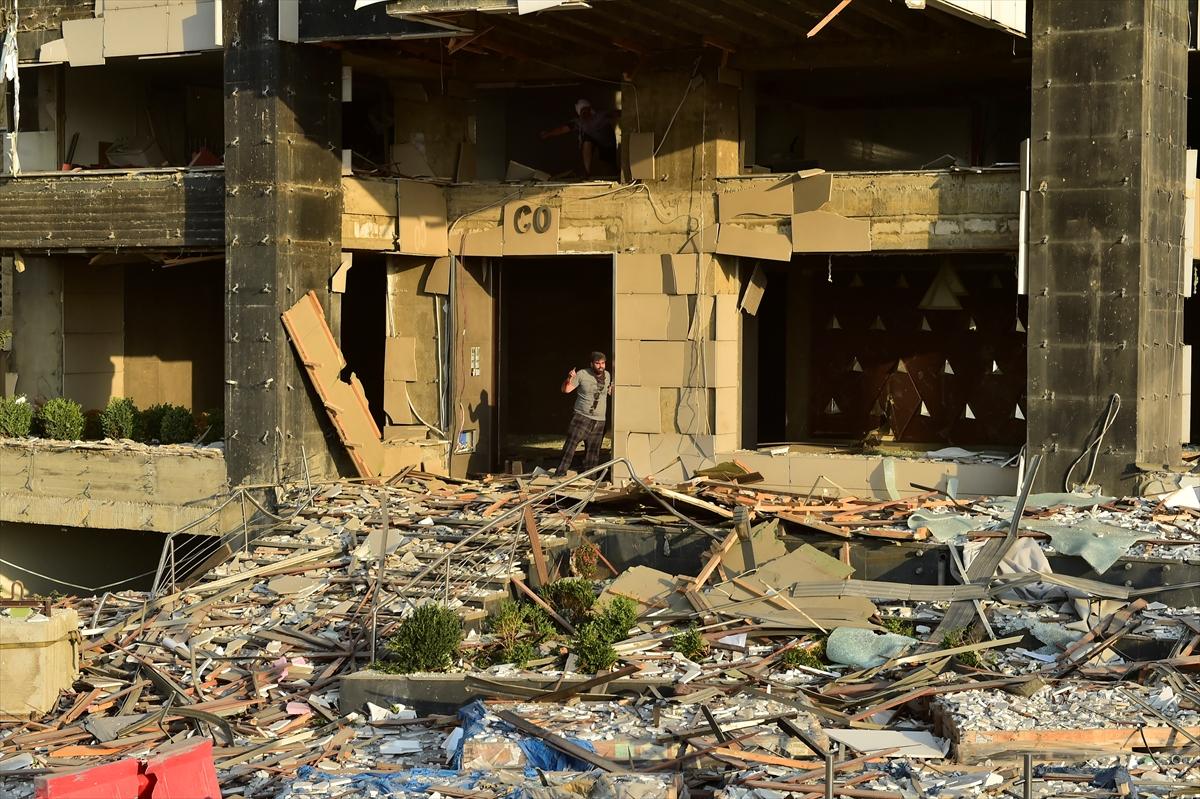 Lübnan'ın başkenti Beyrut'ta patlama #3