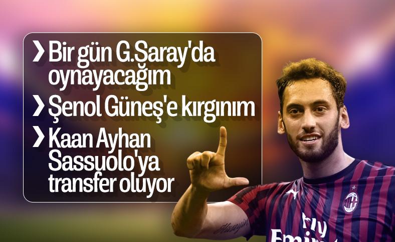 Hakan Çalhanoğlu: G.Saraylılarla bir gün buluşacağız