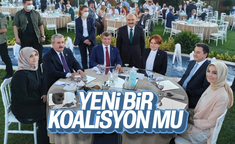 Davutoğlu, Babacan, Akşener ve Destici düğünde buluştu