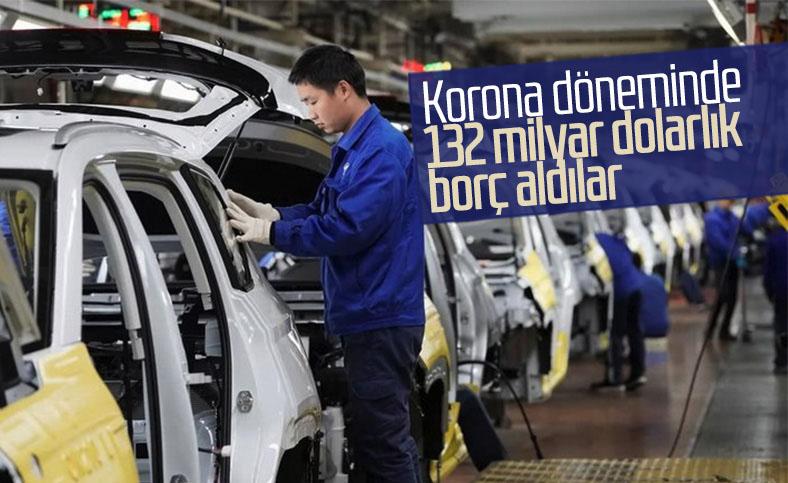 Otomobil üreticileri 132 milyar dolarlık rekor borç aldı