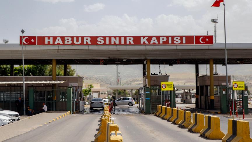 KRG, Türkiye # 2 ile sınır kapısını kapattı