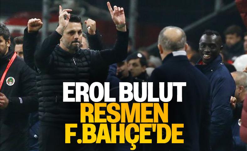 Fenerbahçe, Erol Bulut'u açıkladı