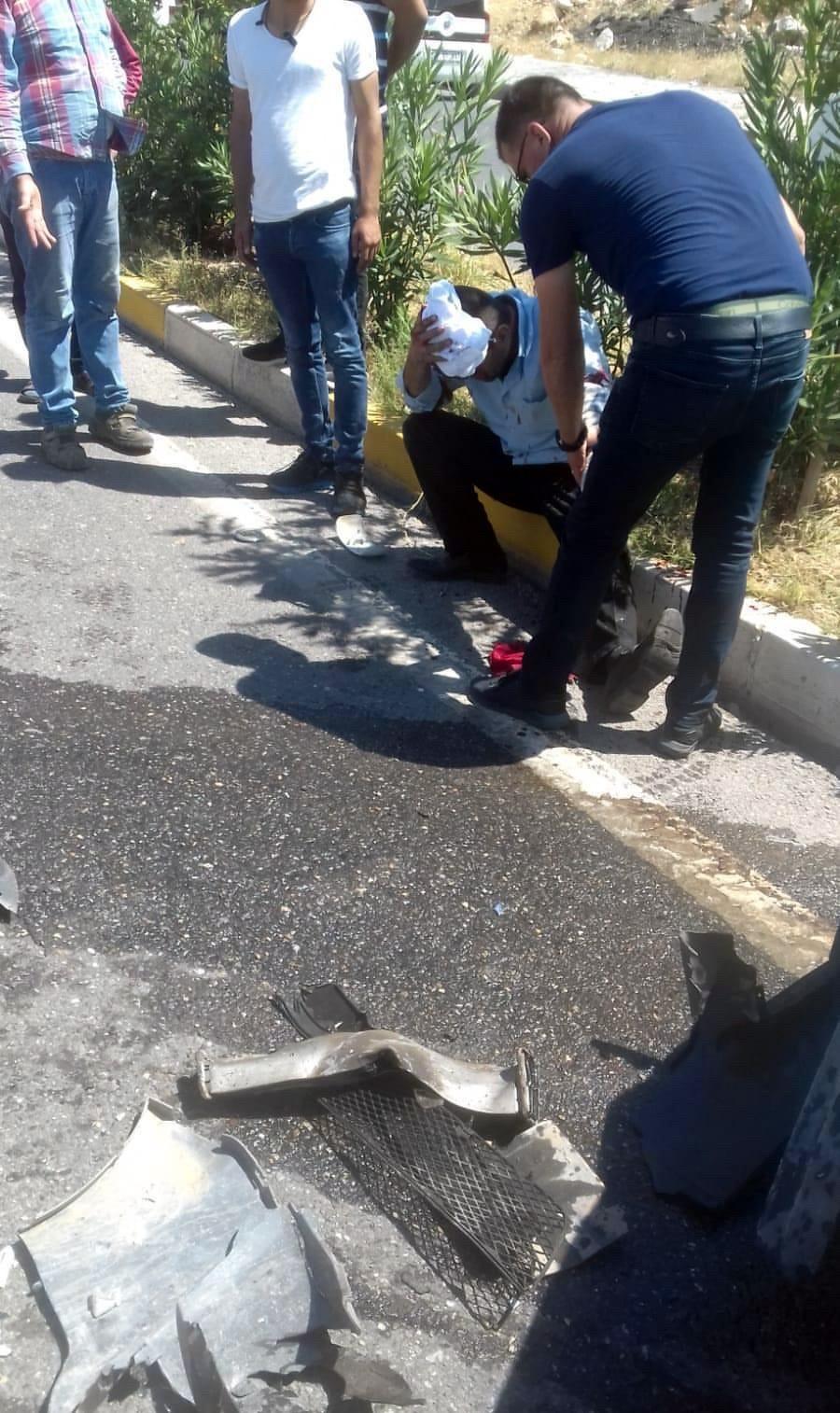 Siirt'te trafik kazası: 4 yaralı #3
