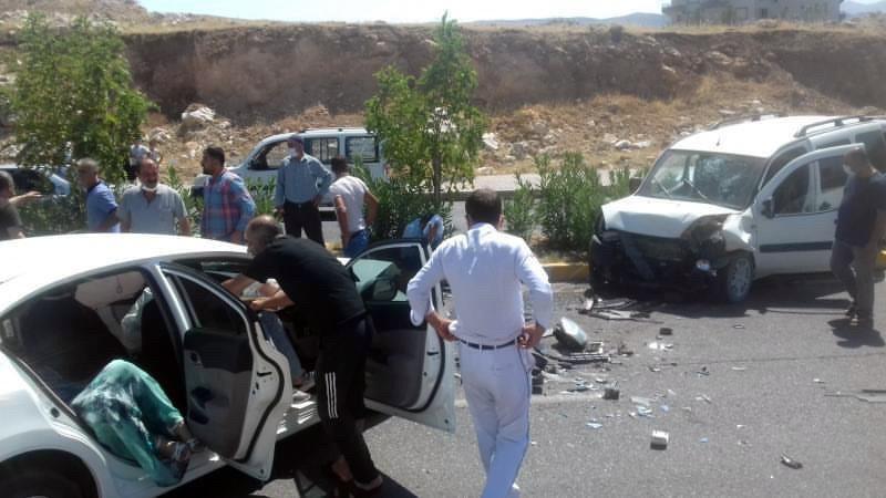 Siirt'te trafik kazası: 4 yaralı #2