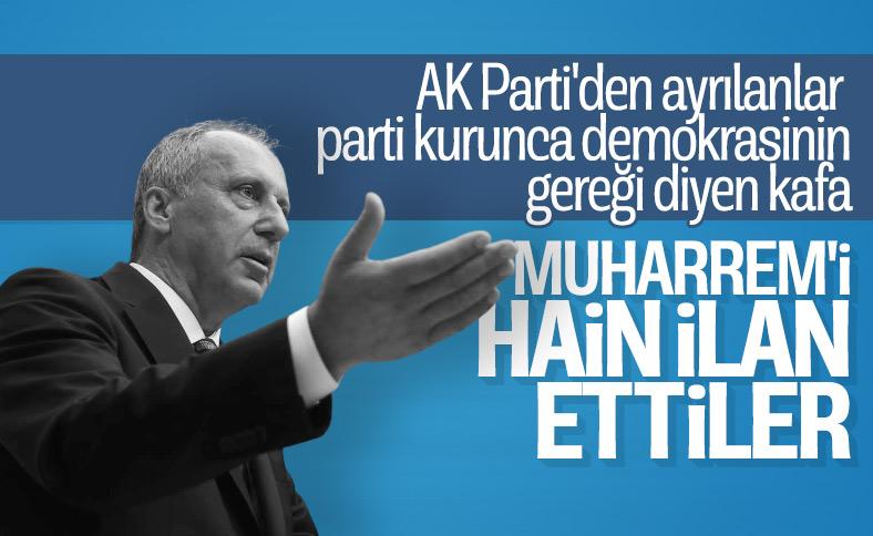 CHP İzmir örgütü Muharrem İnce'yi hain ilan etti