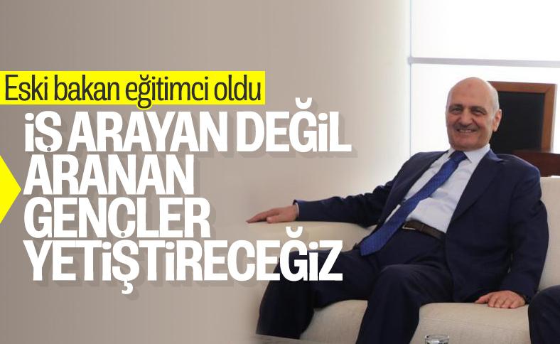 Erdoğan Bayraktar, kurduğu liseyi anlattı